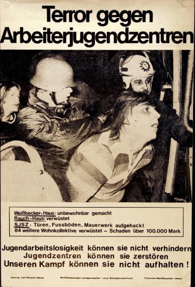Plakat vom März 1975