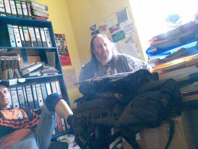 Otto im Büro