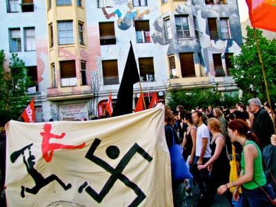 demo gegen nazibrandanschlaege 2011 (28.06.2011)